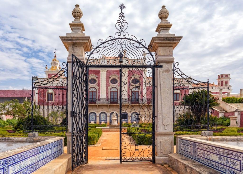 Estoi Palace, Różowy Pałac w Estoi niedaleko Faro, Algarve