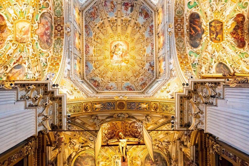 Wnętrze bazyliki Santa Maria Maggiore, Bergamo
