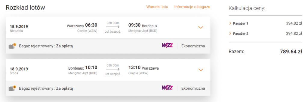 Tanie bilety do Bordeaux na flipo.pl