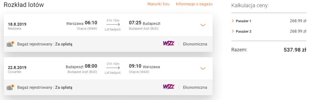 Tanie loty do Budapesztu na flipo.pl