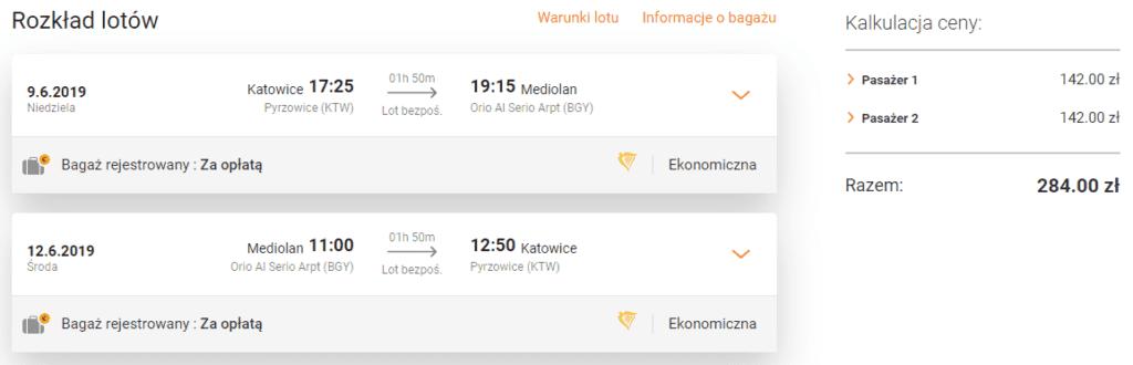 Tanie loty do Mediolanu na flipo.pl