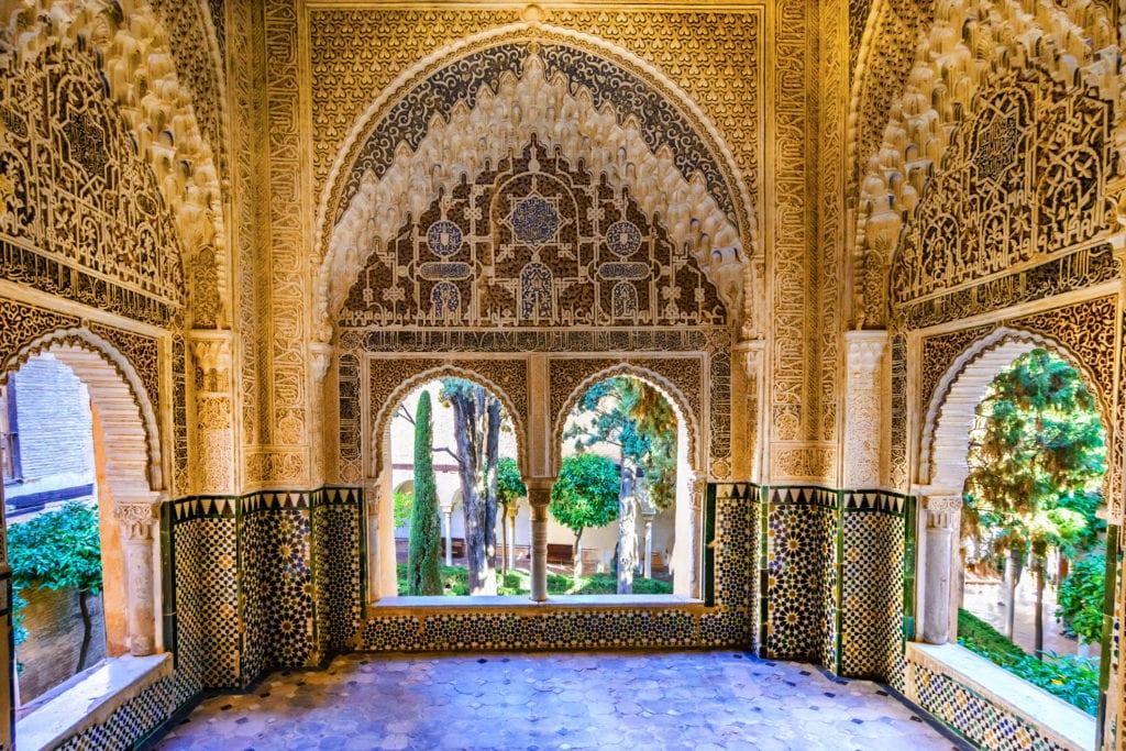 Alhambra, Granada, Andaluzja