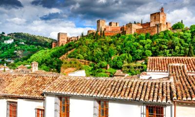 Alhambra w Granadzie, Andaluzja