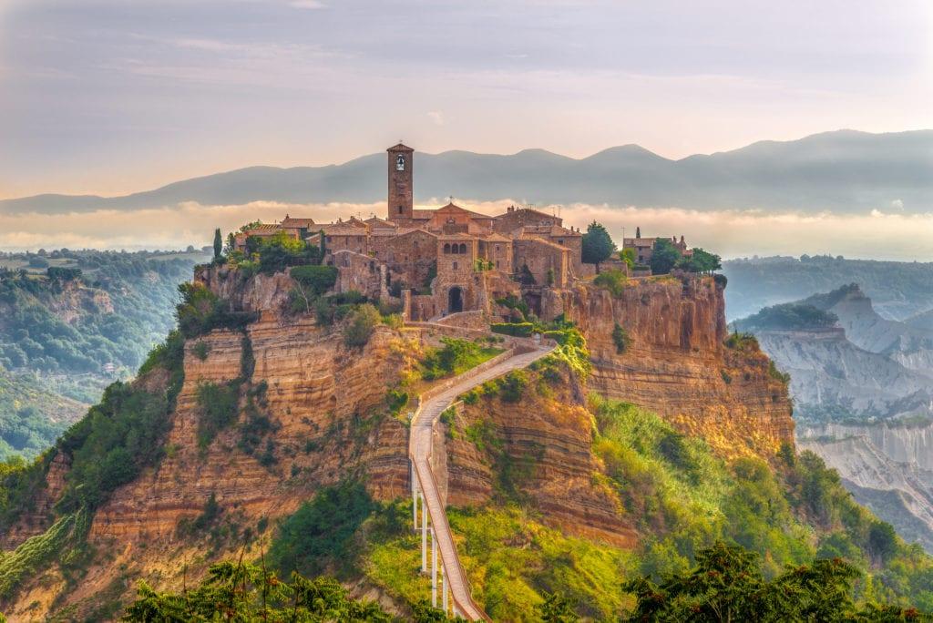 Civita di Bagnoregio, Włochy