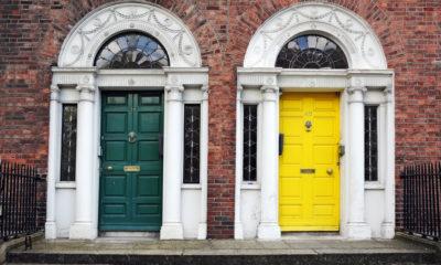 Dzwi w Dublinie, Irlandia