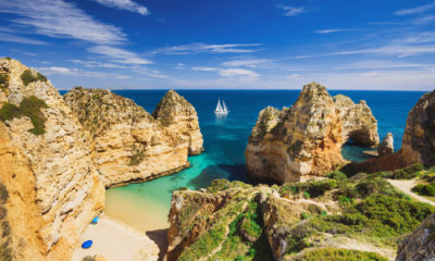 Farol da Ponta da Piedade, niedaleko Lagos, Algarve