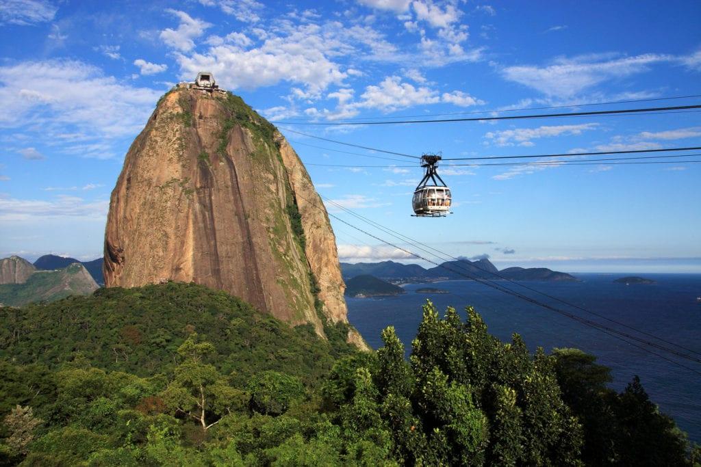 Głowa Cukru (Pao de Acucar) Rio de Janeiro Brazylia
