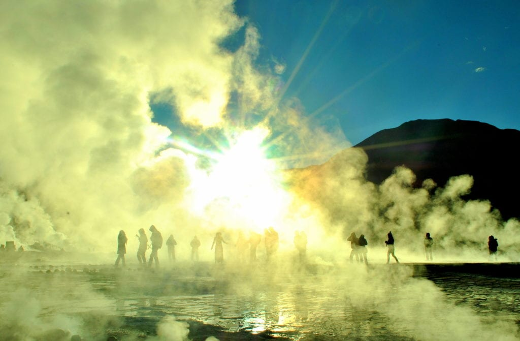 Gejzery El Tatio, Chile