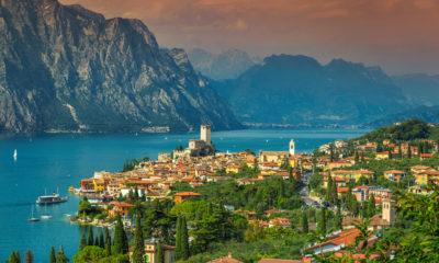Jezioro Garda, Lombardia Włochy