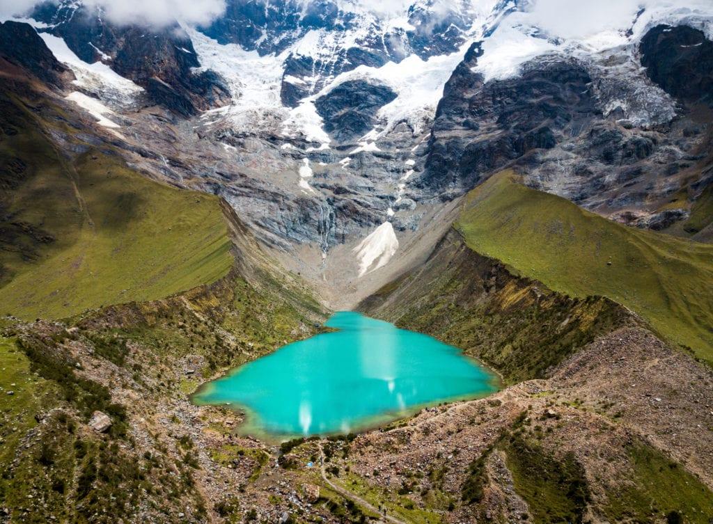 Jezioro Laguna Humantay, Peru