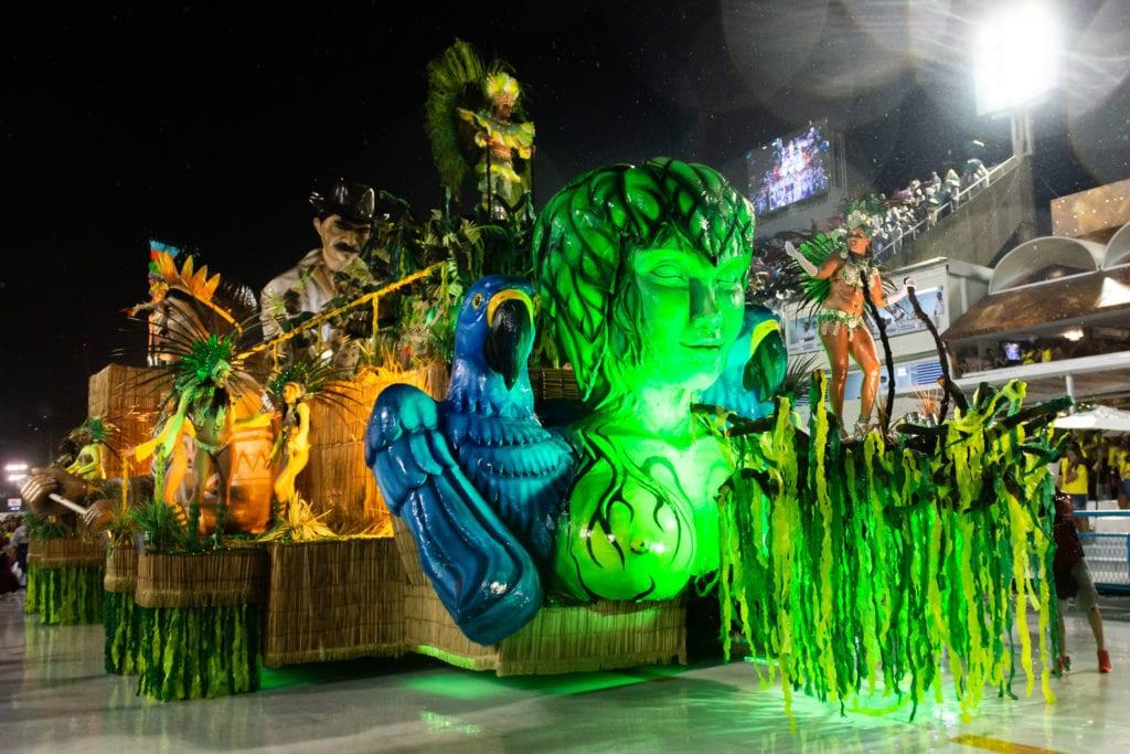 Karnawał w Rio, Brazylia
