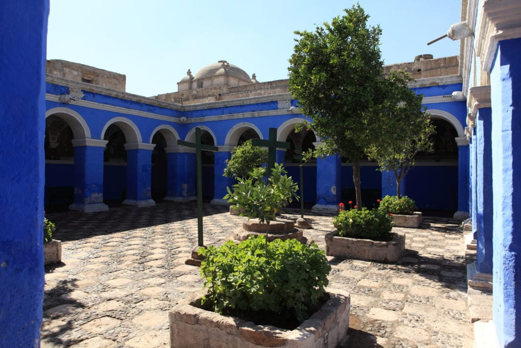 Klasztor Santa Catalina w Arequipe, Peru
