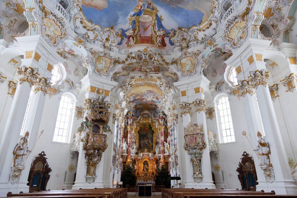Kościół pielgrzymkowy w Wies, Niemcy UNESCO