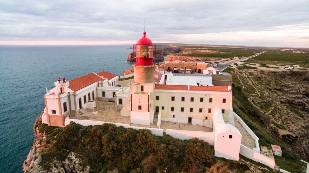 Latarnia morska na Przylądku Świętego Wincentego, Sagres Algarve