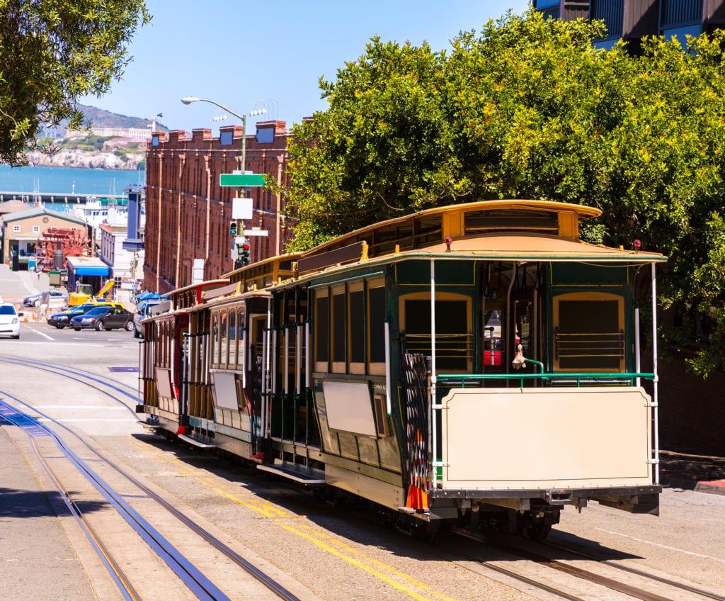 Legendarny tramwaj w San Francisco, USA