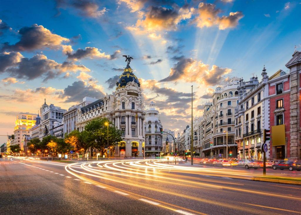 Madryt, Hiszpania