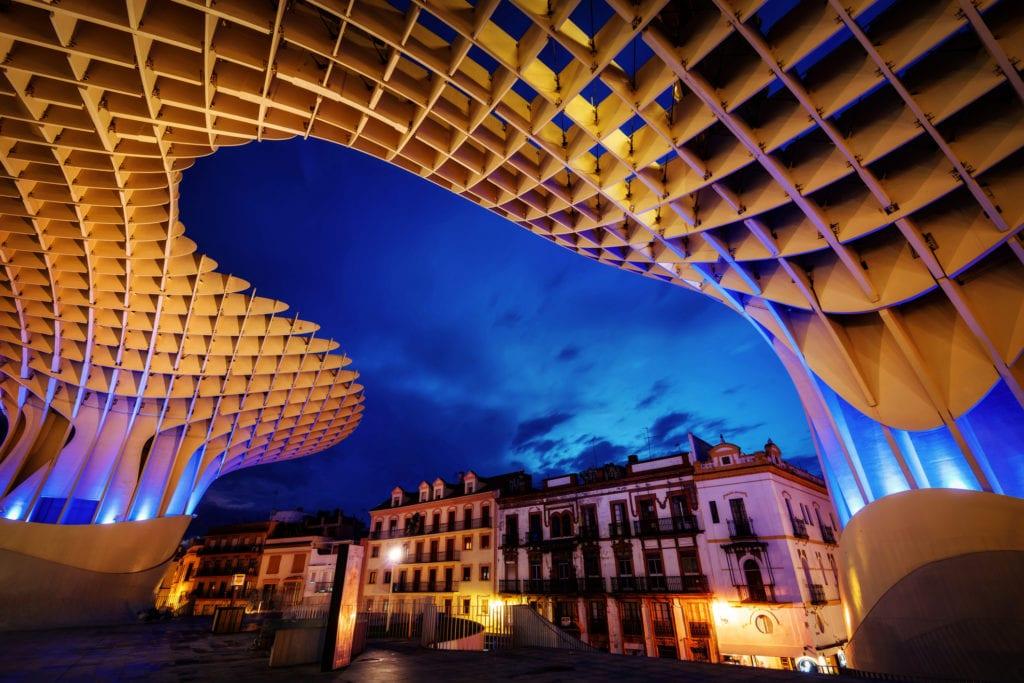 Metropol Parasol w Sewilli, Andaluzja
