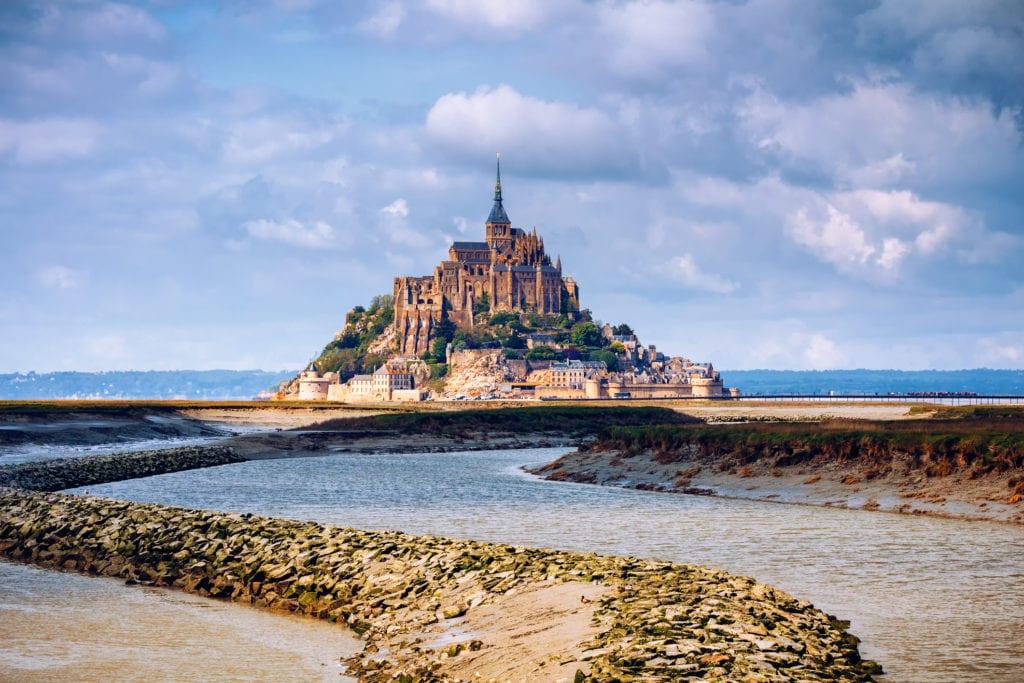 Mont Saint-Michel, Normandia Francja