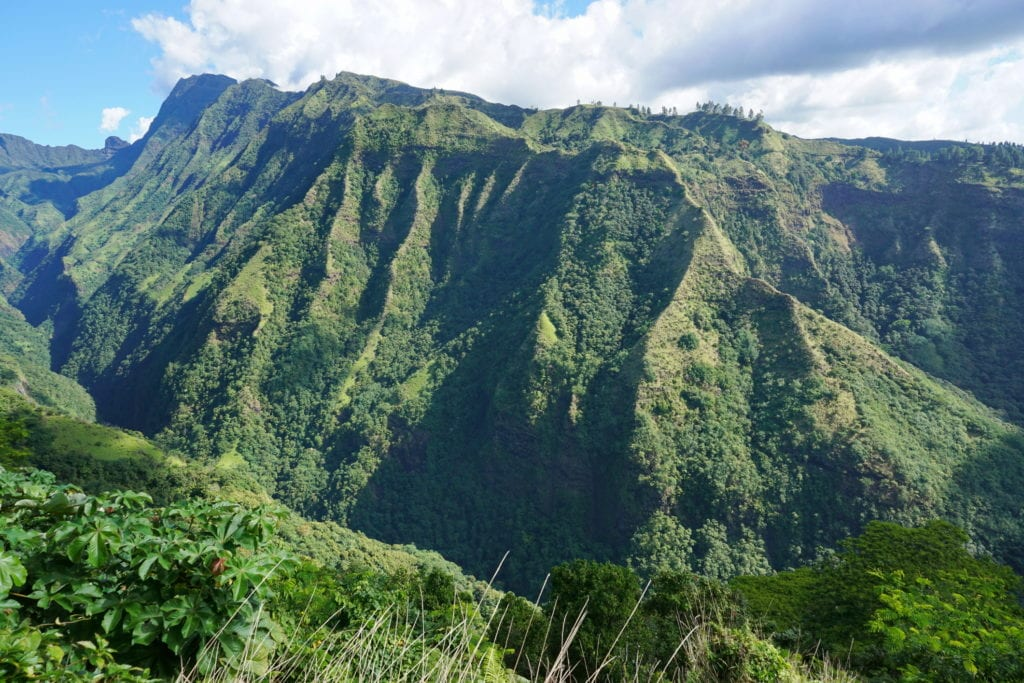 Mount Aorai na wyspie Tahiti, Francuska Polinezja