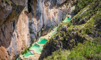 Naturalne baseny Aguas Turquesas Millpu, Peru