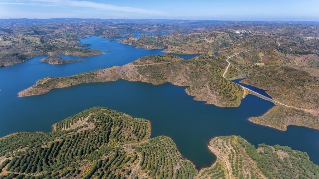 Odeleite, Rzeka Niebieskiego Smoka Algarve Portugalia