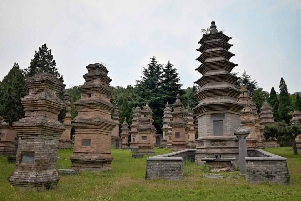 Pagody w klasztorze Szaolin, Chiny