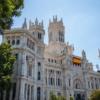 Palacio de Cibeles, Madryt,