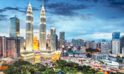 Petronas Towers w Kuala Lumpur, Malezja