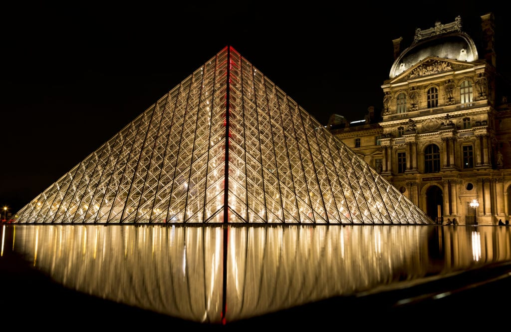 Piramida przed Luwrem, Paryż