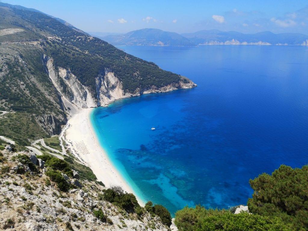 Plaża Myrtos, Kefalinia