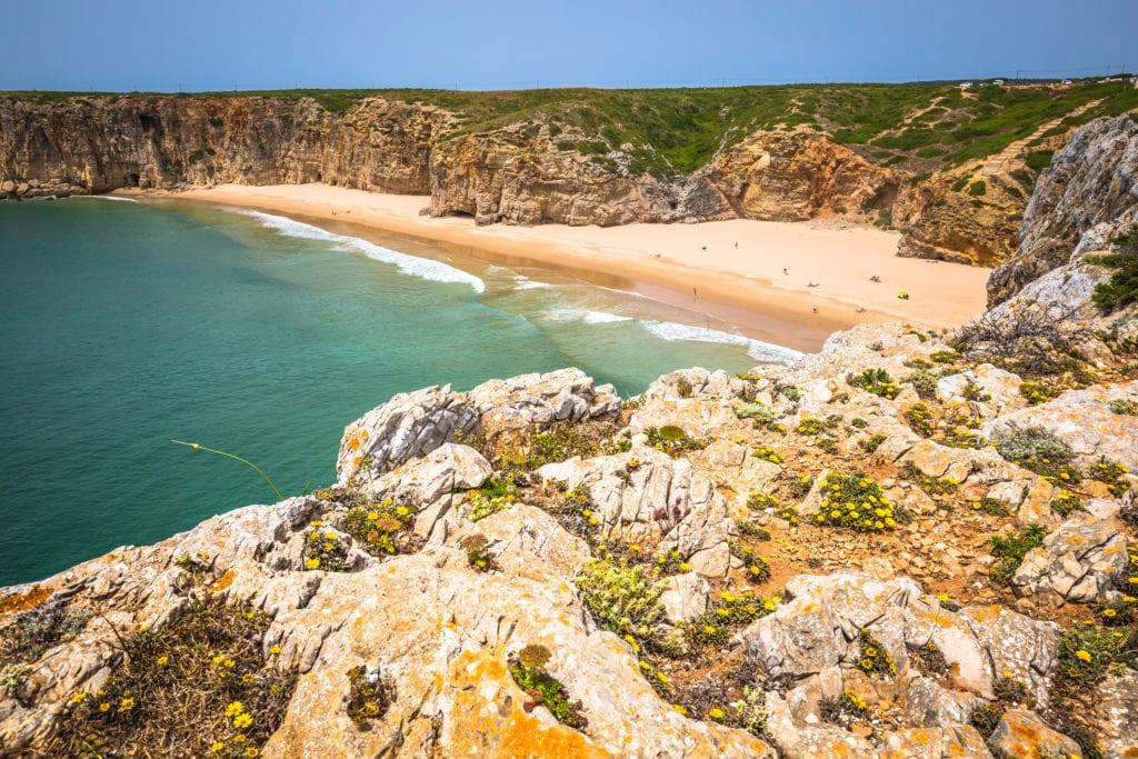 Plaża Praia do Beliche, Sagres Algarve