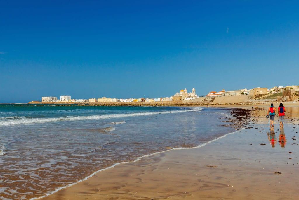 Plaże w okolicach Kadyks, Andaluzja