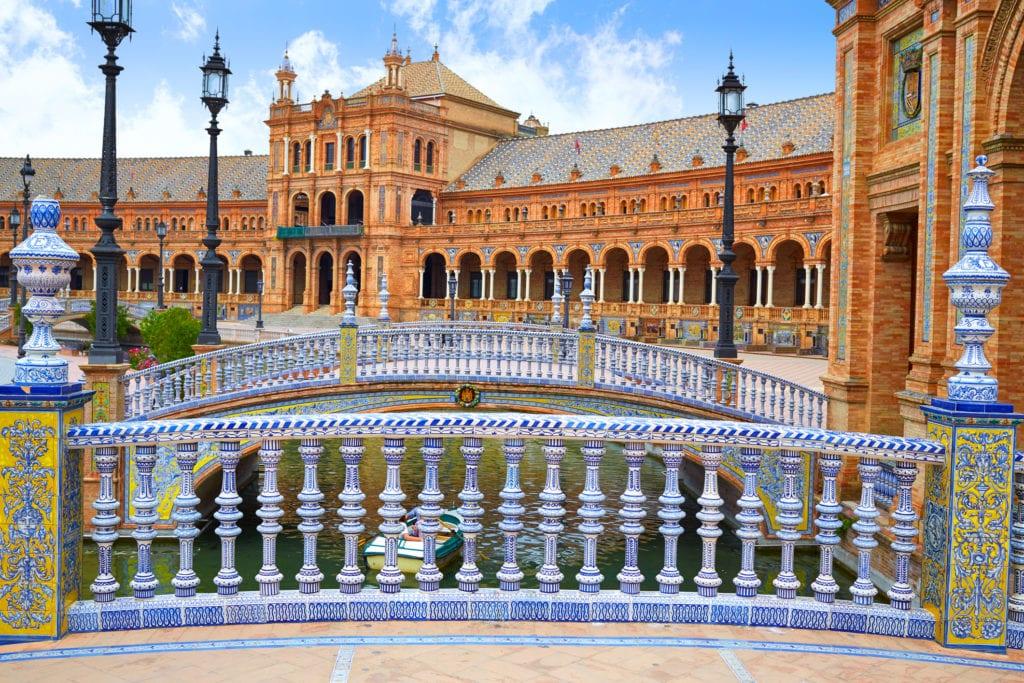 Plaza de España, Plac Hiszpański, Sewilla