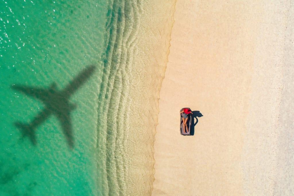 Podróż samolotem,