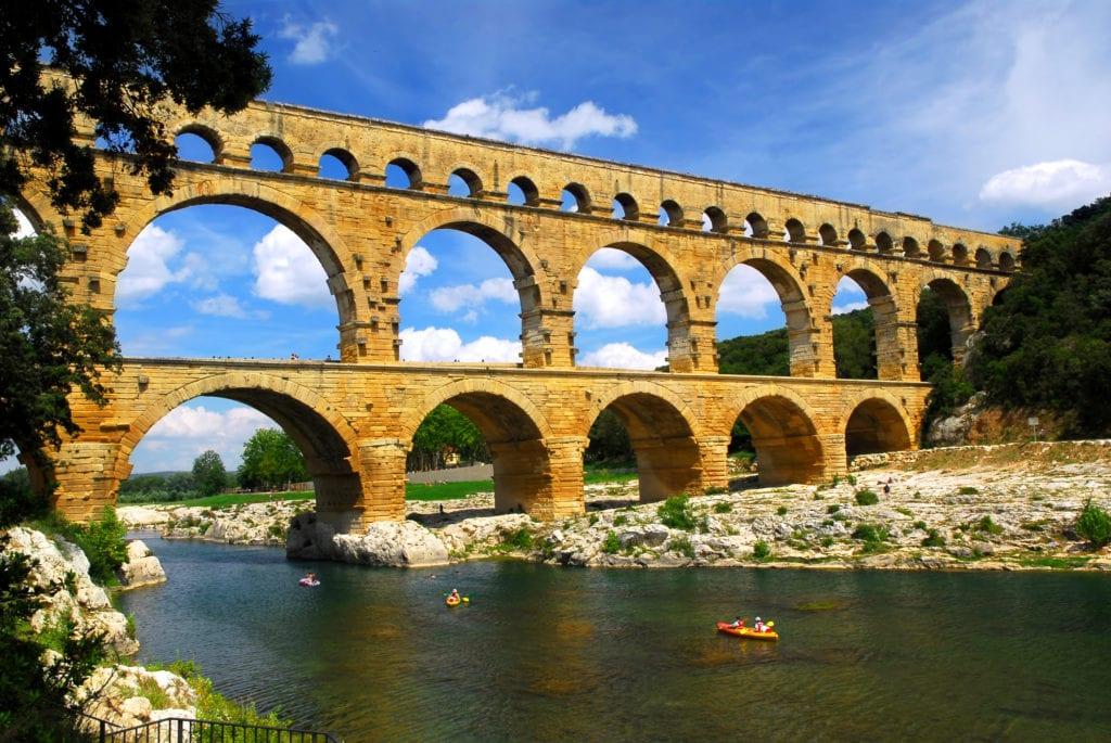 Pont du Gard, Francja UNESCO