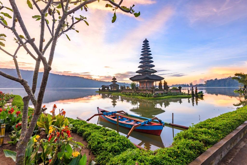 Pura Ulun Danu Bratan, Bali, Indonezja