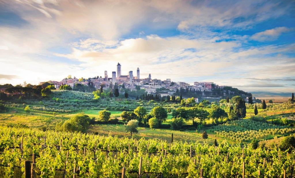San Gimignano, Toskania