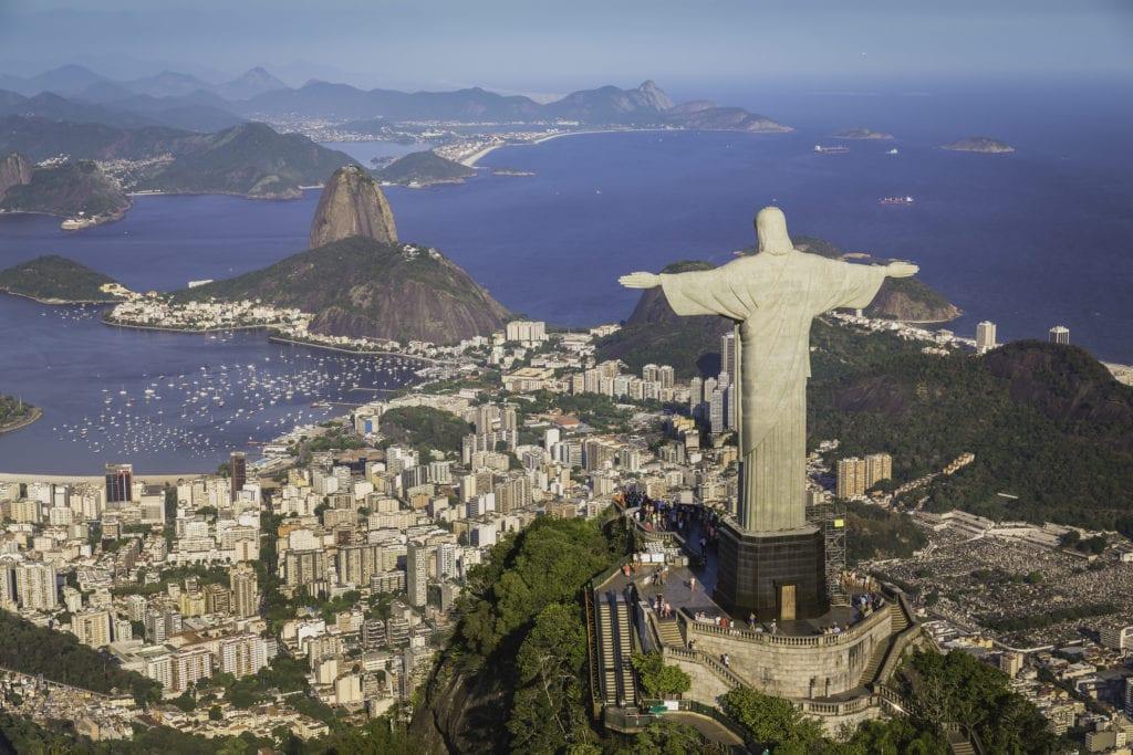 Statua Chrystusa Zbawiciela, Rio de Janeiro Brazylia