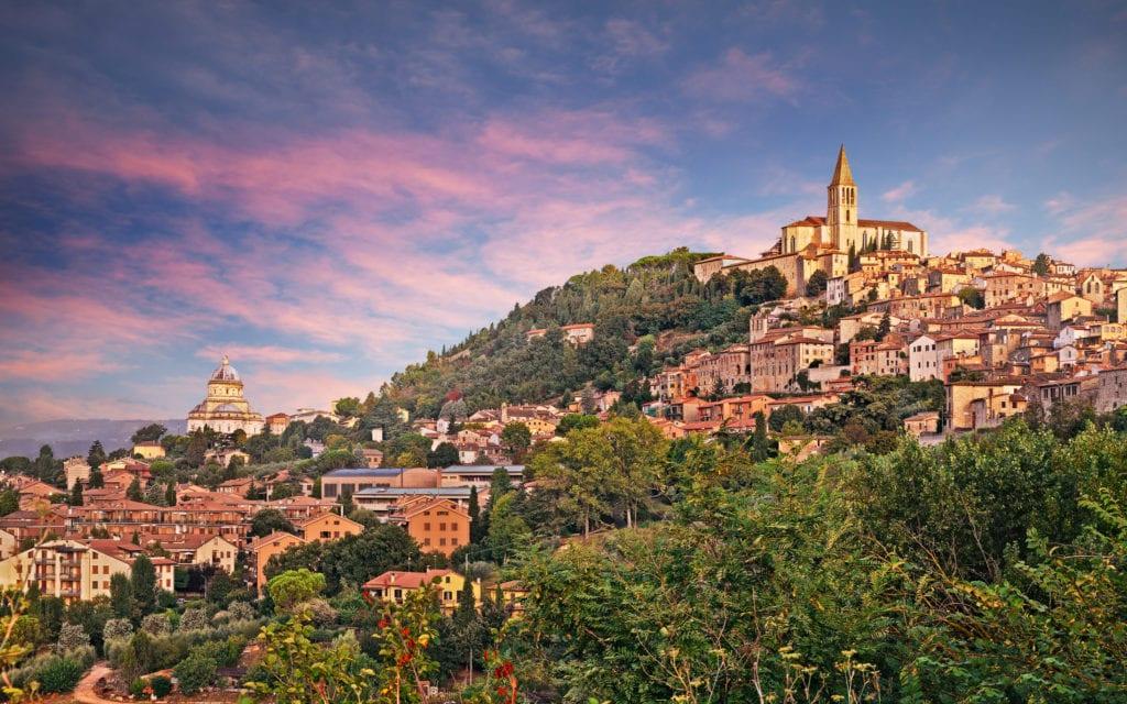 Todi. Perugia Włochy