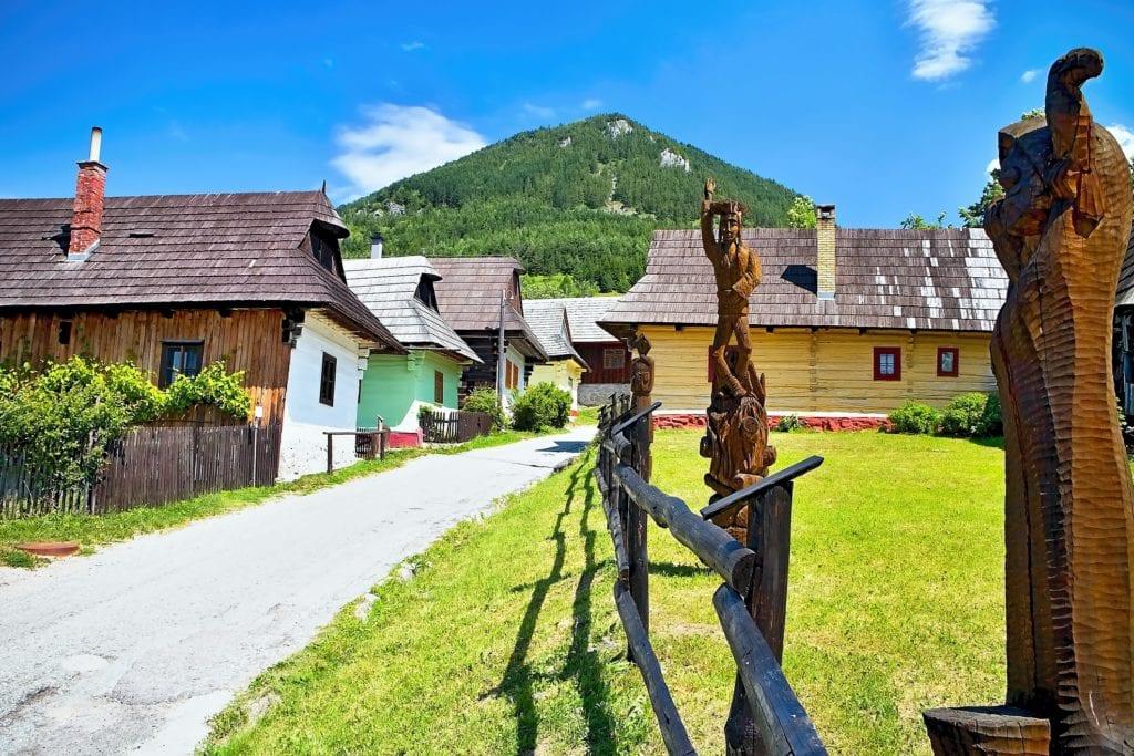 Vlkolínec, Słowacja