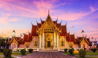 Wat Benchamabophit, Marmurowa Świątynia w Bangkoku, Tajlandia