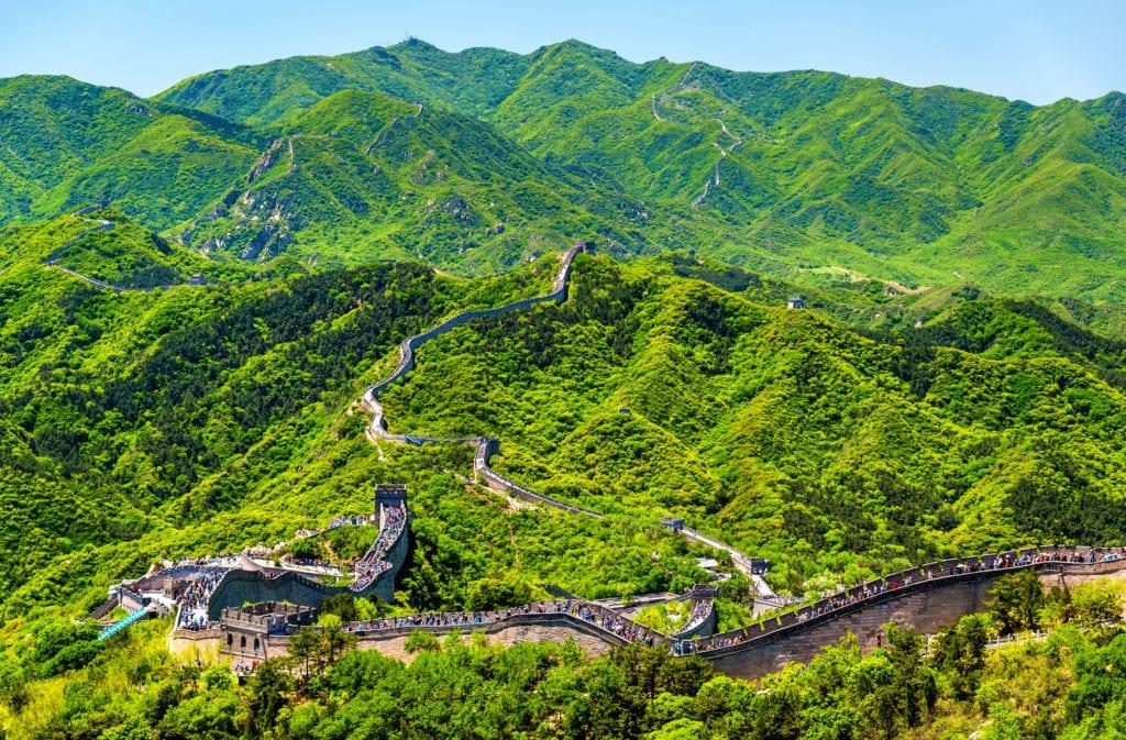 Wielki Mur Chinski w Badaling, Chiny