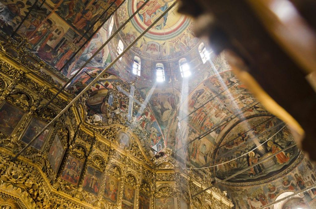 Wnętrze Monastyru Rilskiego, Bułgaria