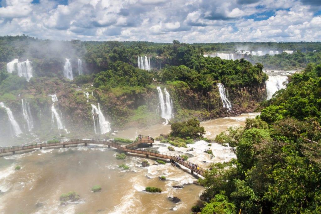 Wodospady Iguacu Ameryka Południowa