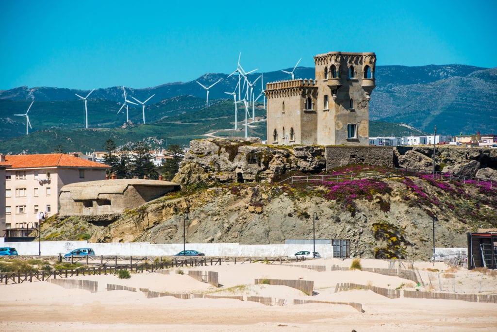 Zamek Santa Catalina, Kadyks Andaluzja