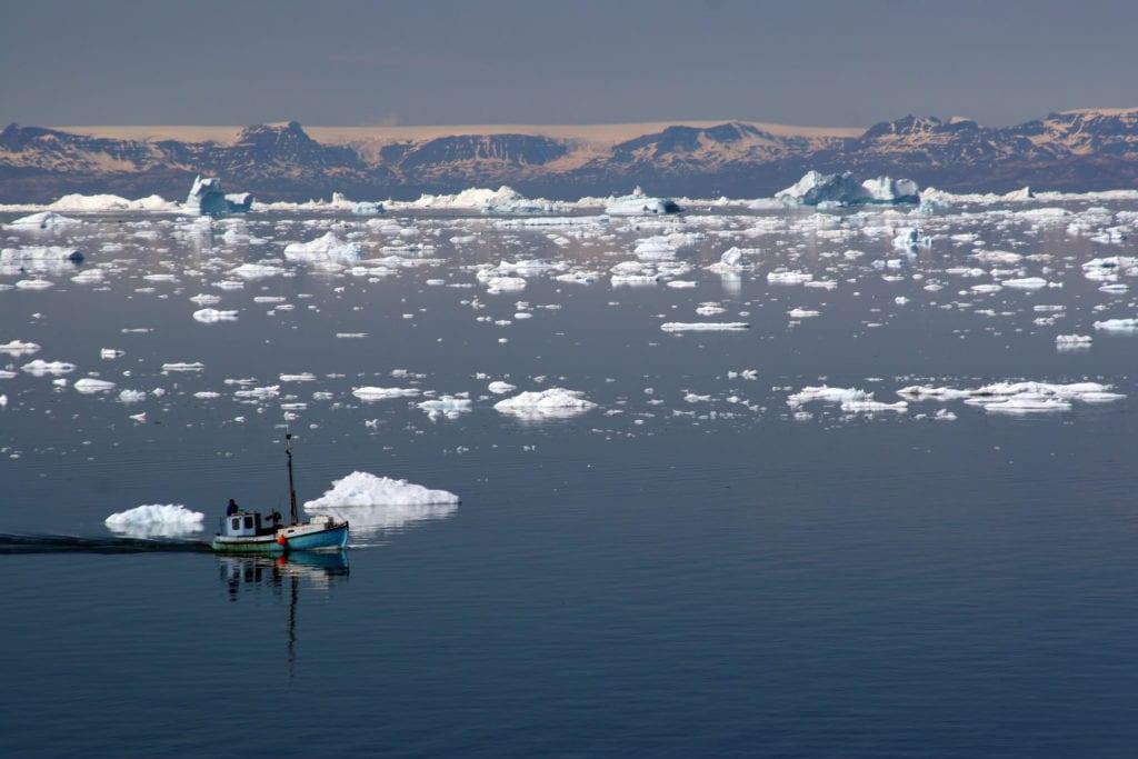 Zatoka Disco, Ilulissat, Grenlandia Dania