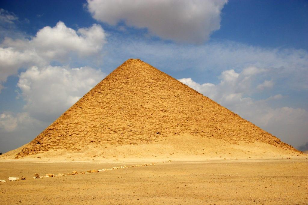 Czerwona Piramid w Dahszur, Egipt