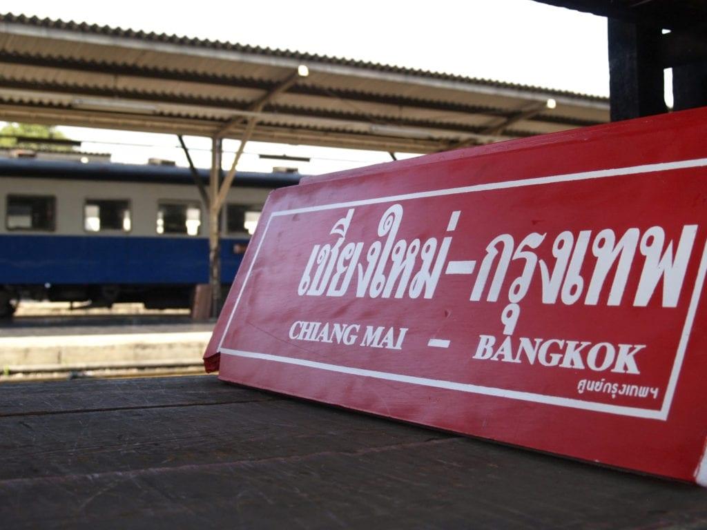 Dworzec kolejowy w Tajlandii,