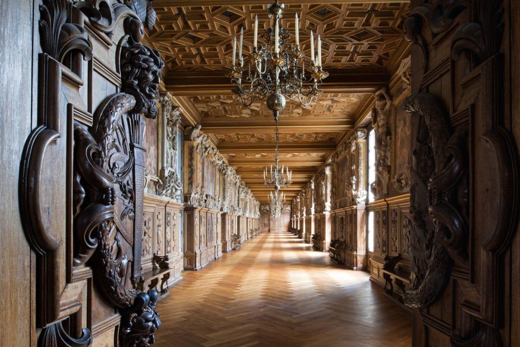 Galeria Franciszka I w pałacu Fontainebleau, FRancja