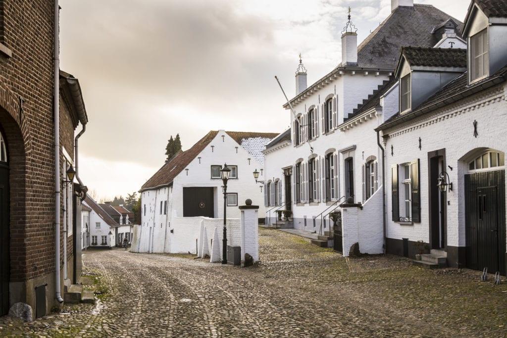 Holenderskie miasto Thorn, Białe domki